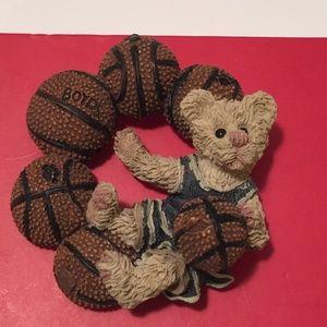vintage basketball brooch women's Boyds Bear